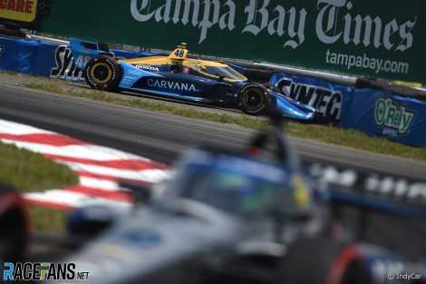 Jimmie Johnson, Ganassi, St Petersburg, IndyCar, 2021