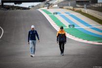 George Russell, Lando Norris, Autodromo do Algarve, 2021
