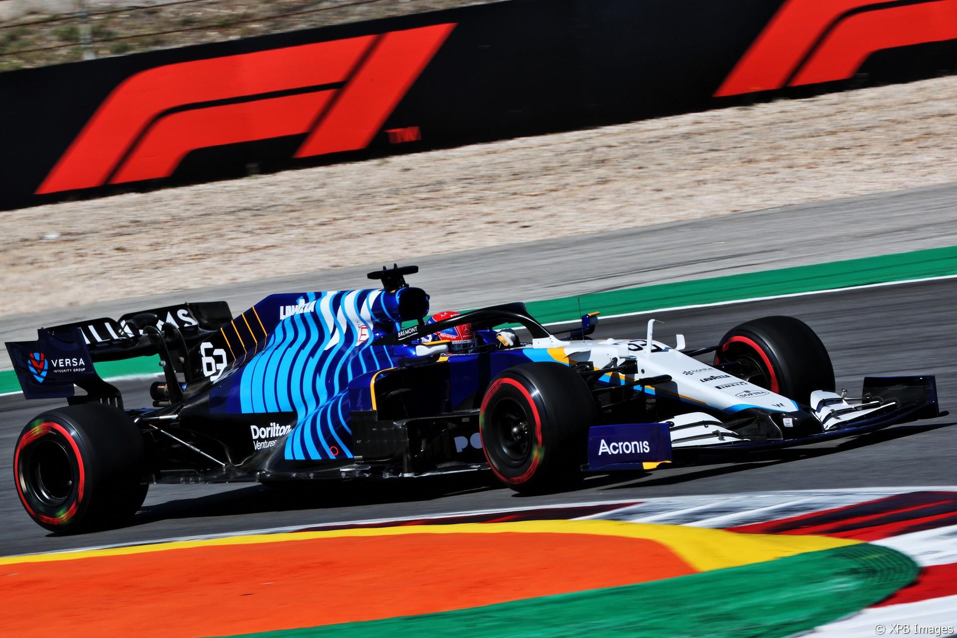 George Russell, Williams, Autodromo do Algarve, 2021