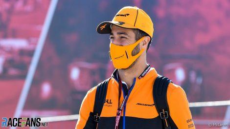 Daniel Ricciardo, McLaren, Algarve, 2021