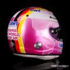 Sebastian Vettel's Portuguese Grand Prix helmet, Algarve, 2021