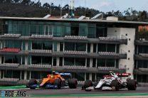 Lando Norris, Antonio GIovinazzi, Autodromo do Algarve, 2021