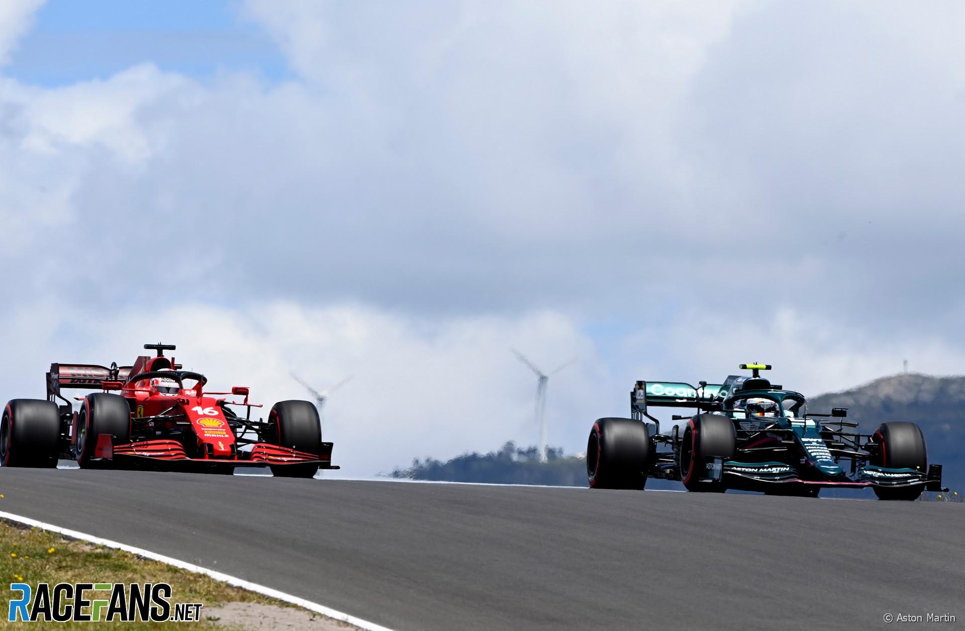 Charles Leclerc, Sebastian Vettel, Autodromo do Algarve, 2021