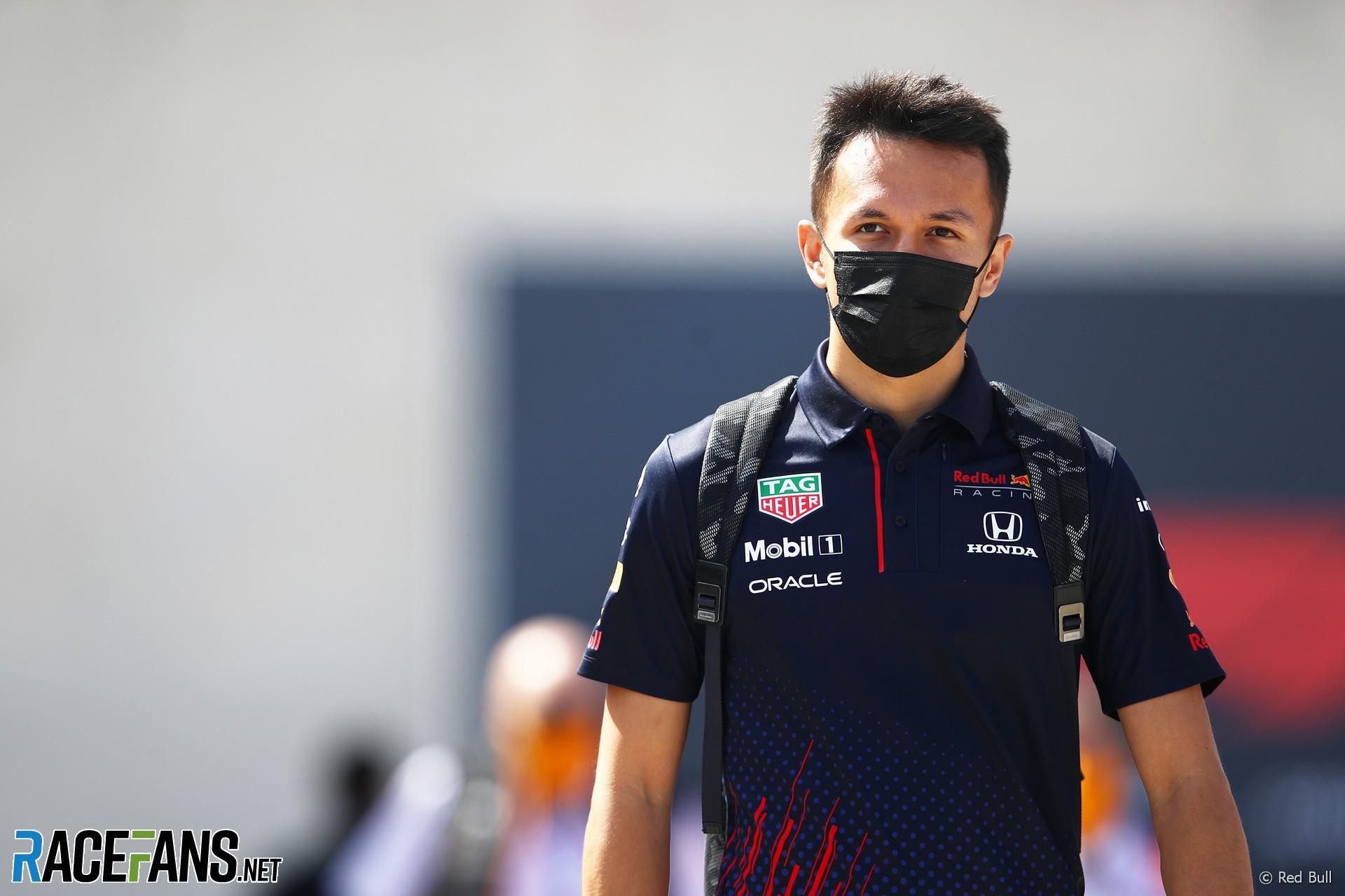 Alexander Albon, Red Bull, Autodromo do Algarve, 2021