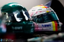 Casque de Sebastian Vettel, Autodromo do Algarve, 2021