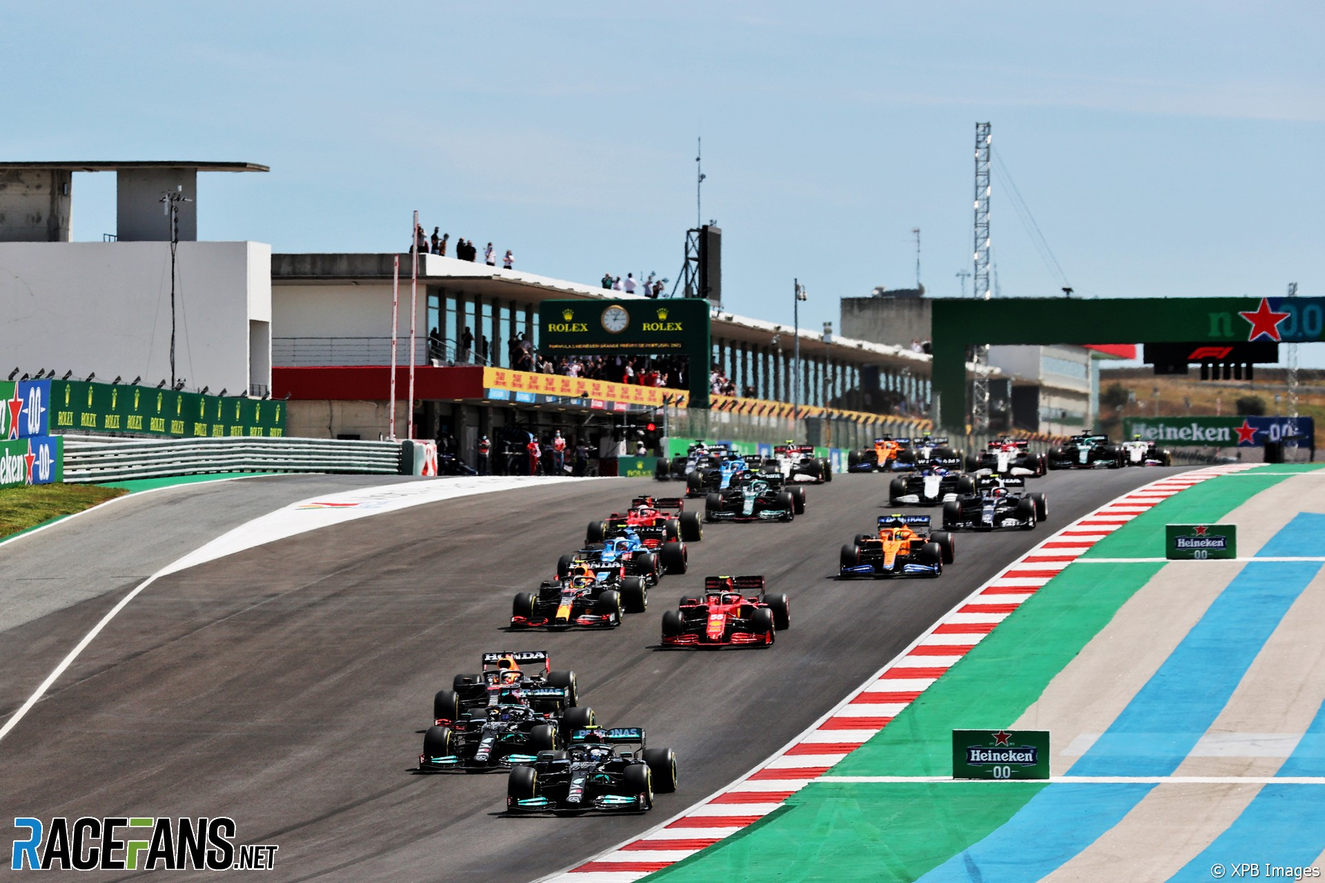 Start, Autodromo do Algarve, 2021