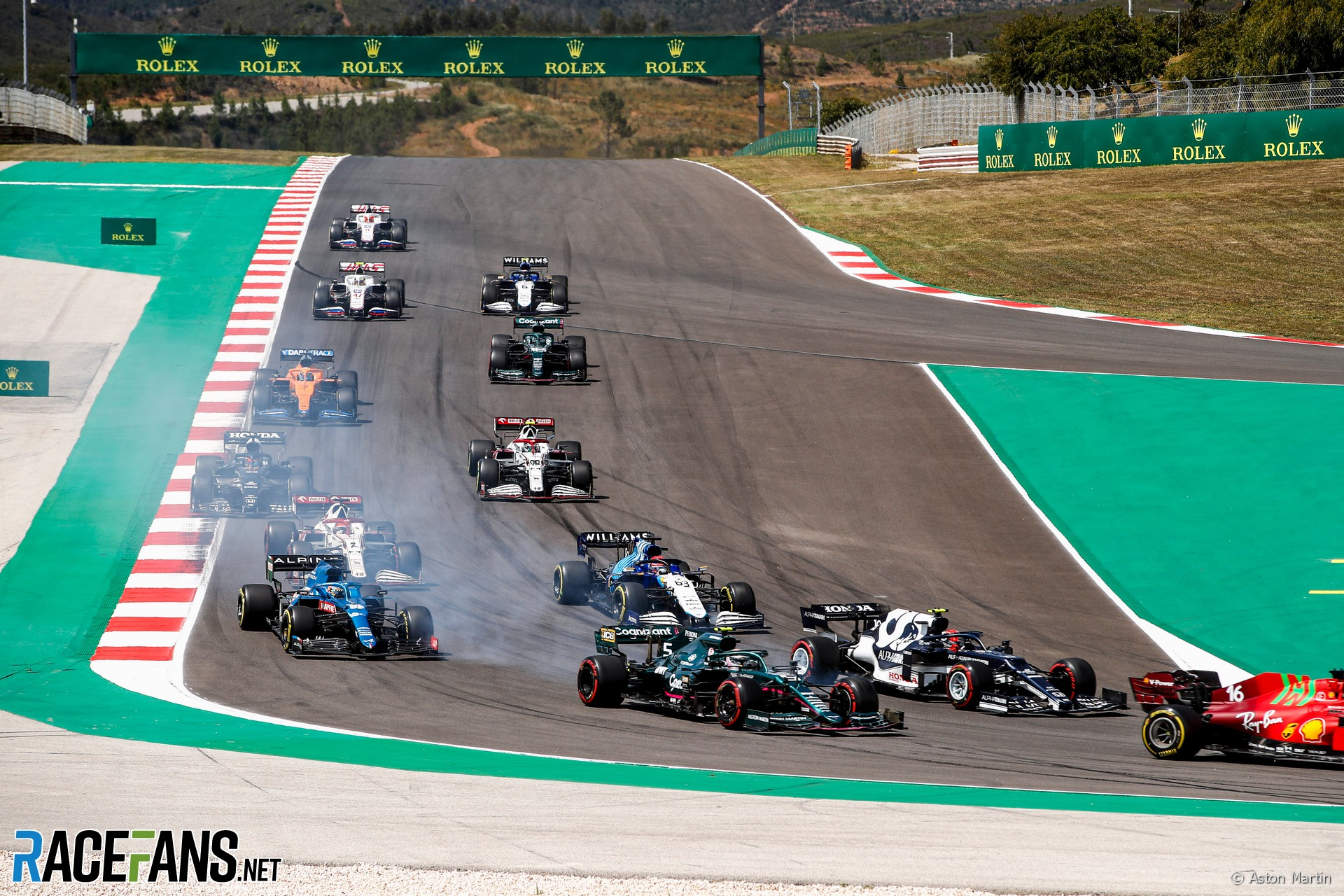Start, Autodromo do Algarve, 2021