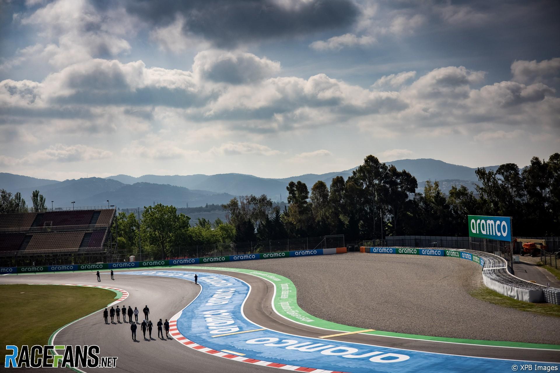 Nicholas Latifi, Williams, Circuit de Catalunya, 2021