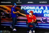 Fernando Alonso, Carlos Sainz Jnr, Circuit de Catalunya, 2021