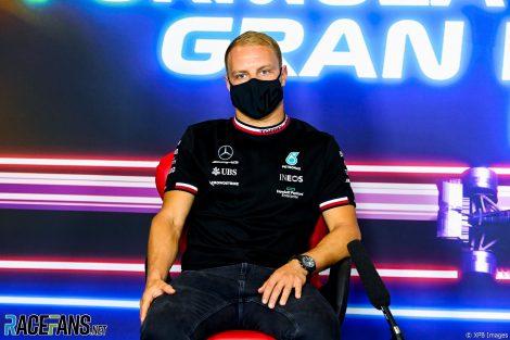 Valtteri Bottas, Mercedes, Circuit de Catalunya, 2021