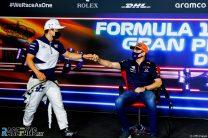 Yuki Tsunoda, Max Verstappen, Circuit de Catalunya, 2021