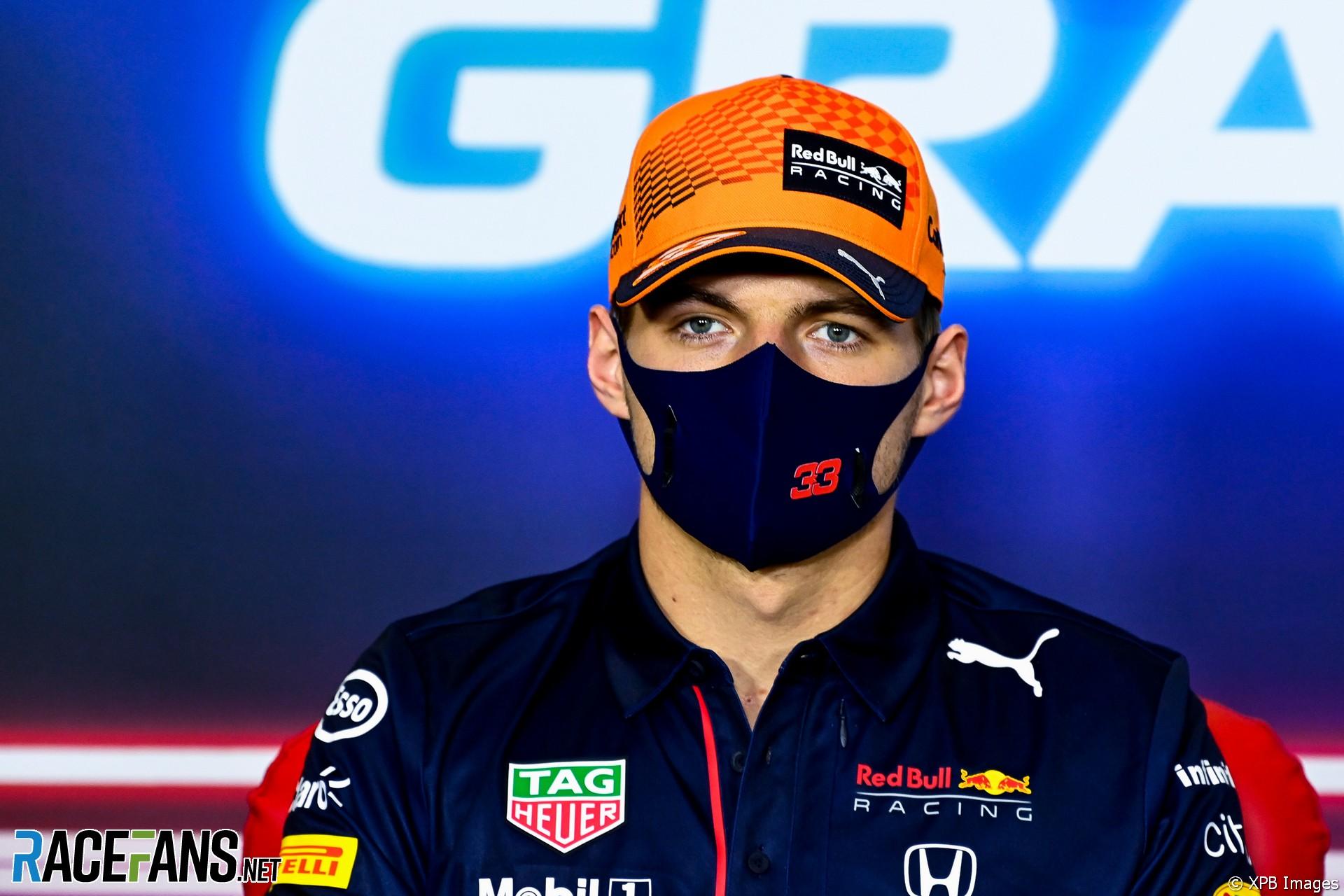 Max Verstappen, Red Bull, Circuit de Catalunya, 2021