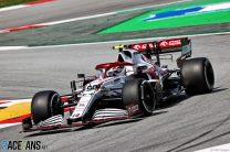 Antonio Giovinazzi, Alfa Romeo, Circuit de Catalunya, 2021