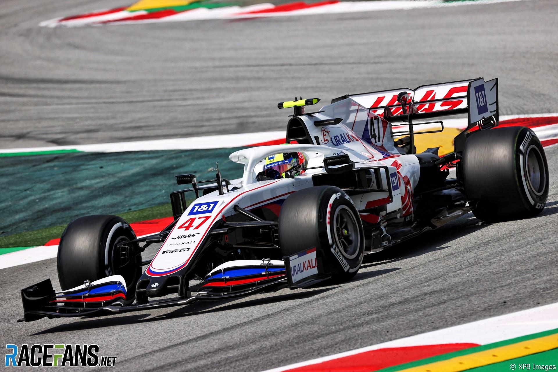 Mick Schumacher, Haas, Circuit de Catalunya, 2021