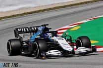 Roy Nissany, Williams, Circuit de Catalunya, 2021