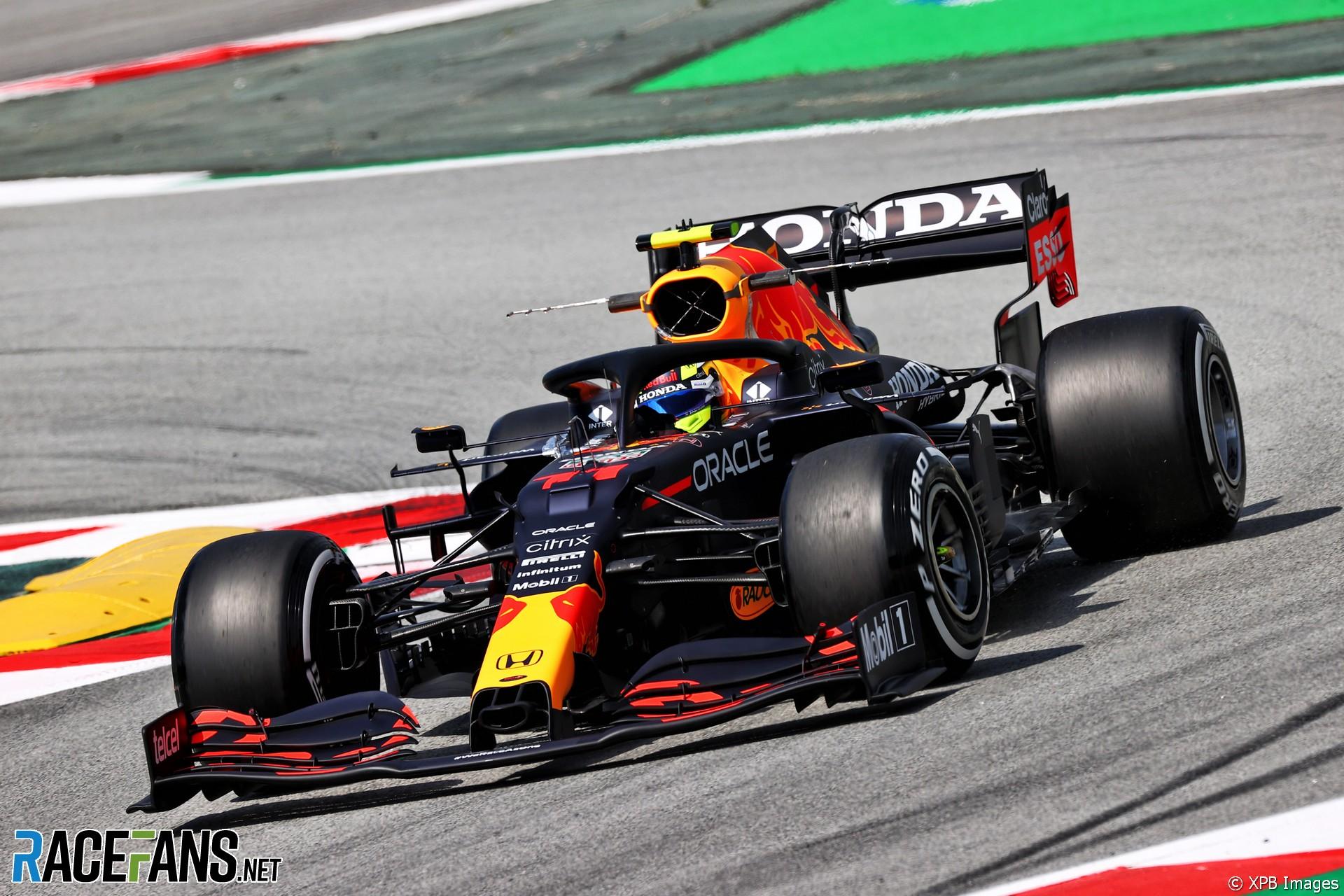 Sergio Perez, Red Bull, Circuit de Catalunya, 2021