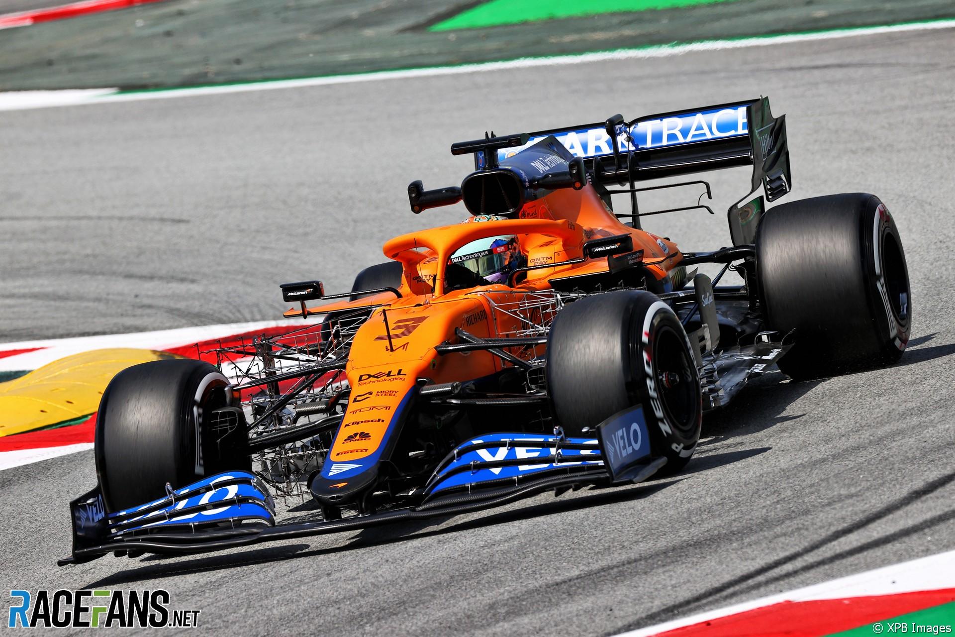 Daniel Ricciardo, McLaren, Circuit de Catalunya, 2021