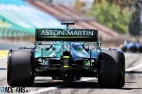 Lance Stroll, Aston Martin, Circuit de Catalunya, 2021