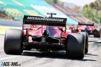 Charles Leclerc, Ferrari, Circuit de Catalunya, 2021