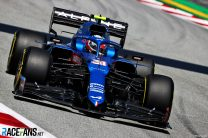 Misfire on final lap cost Ocon a second-row start for Spanish Grand Prix