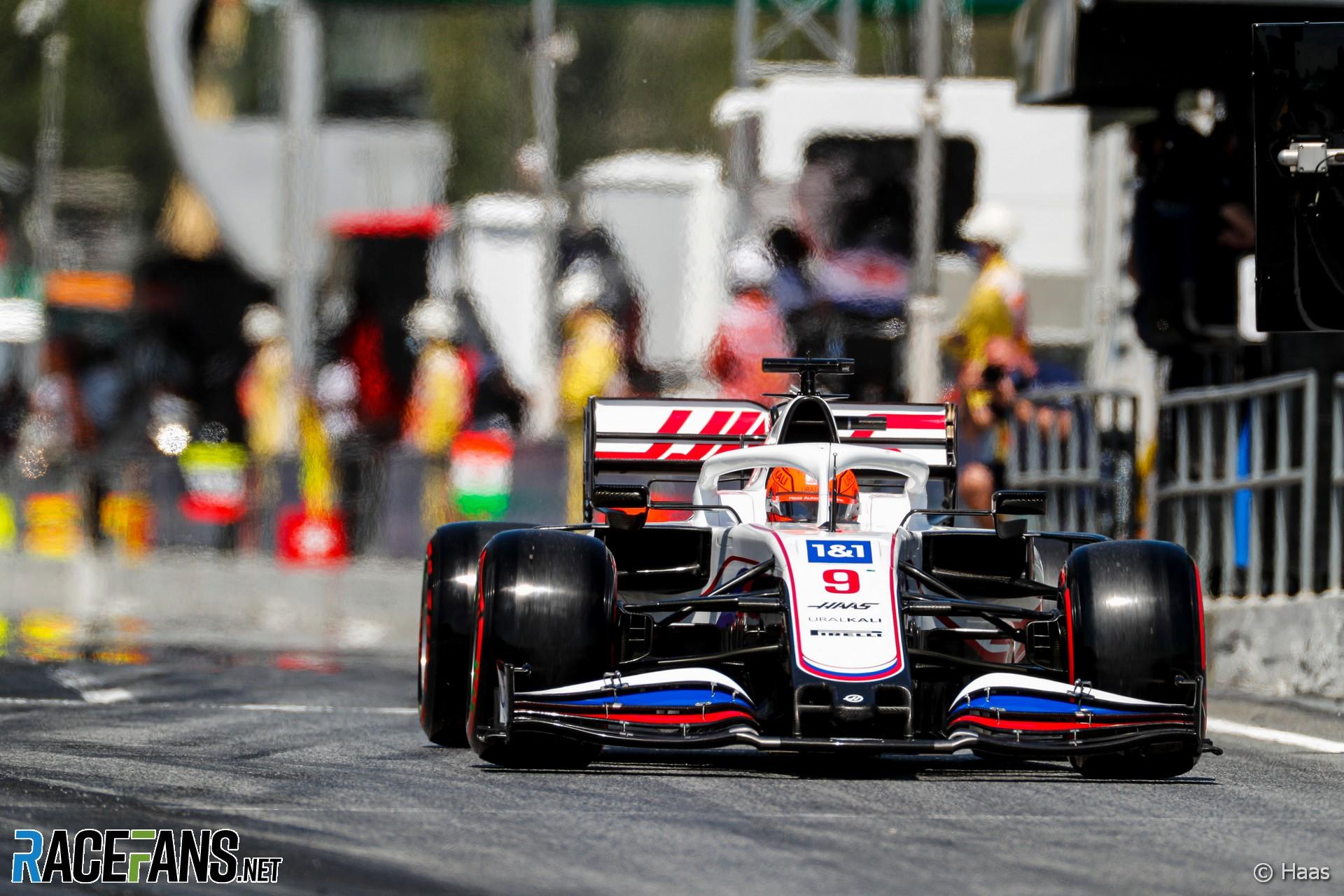 Nikita Mazepin, Haas, Circuit de Catalunya, 2021