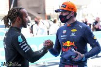 Can Verstappen use Hamilton's Bahrain strategy to end his winning streak in Spain?