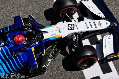George Russell, Williams, Circuit de Catalunya, 2021