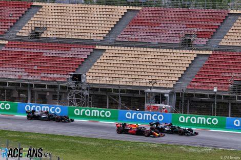 Start, Circuit de Catalunya, 2021