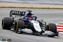 George Russell, Williams, Circuito de Cataluña, 2021