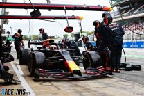 """Verstappen's first pit stop surprised Red Bull: """"We hadn't called him in"""""""