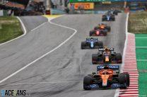Daniel Ricciardo, McLaren, Circuito de Cataluña, 2021