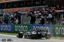 Hamilton almost ignored call for second pit stop