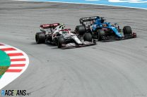 Antonio Giovinazzi, Fernando Alonso, Circuit de Catalunya, 2021