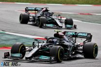 """Bottas says he could have let Hamilton past sooner: """"I'm here to race, not let people by"""""""