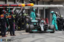 """Hamilton's second pit stop was a """"difficult call"""" for Mercedes – Wolff"""