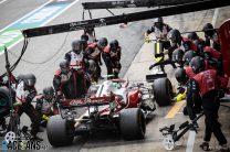 Luckless Giovinazzi laments 's*** race' as team explains bizarre pit stop problem