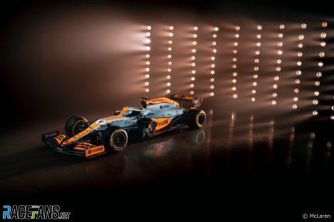McLaren 2021 Livrée Golfe du Grand Prix de Monaco