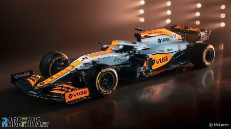 Livrée du Grand Prix McLaren de Monaco, 2021