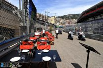 First pictures from the 2021 Monaco Grand Prix weekend