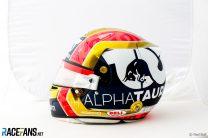 Pierre Gasly's 2021 Monaco Grand Prix helmet