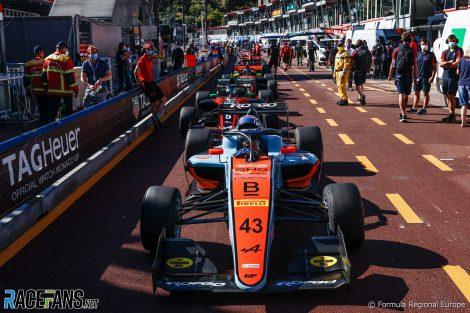 Franco Colapinto, MP Motorsport, Formula Regional Europe, Monaco, 2021