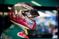 Sebastian Vettel's 2021 Monaco Grand Prix helmet