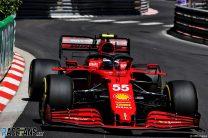 Carlos Sainz Jnr, Ferrari, Monaco, 2021