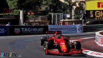 Charles Leclerc, Ferrari, Monaco, 2021