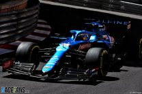 """Alpine's poor pace is a """"one-off"""" says Alonso after Q1 exit"""