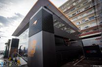 McLaren motorhome, Monaco, 2021
