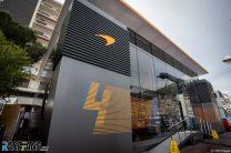 McLaren debuts new, more sustainable 'Team Hub' motorhome in Monaco