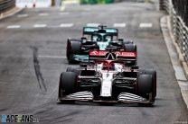 Kimi Raikkonen, Alfa Romeo, Monaco, 2021