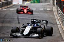 George Russell, Williams, Monaco, 2021