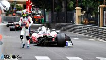 """Schumacher """"too confident"""" in crash which ruled him out of qualifying"""